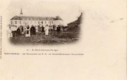 ECHOURGNAC LE MONASTERE DE N-D DE BONNE-ESPERANCE (TRAPPISTES) CARTE PRECURSEUR - France