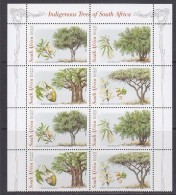 South Africa 1998 Indingenous Trees 2x4v ** Mnh (31674) - Zuid-Afrika (1961-...)