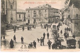 MONREALE - PIAZZA E VIA PRINCIPALE - 1905 - Palermo