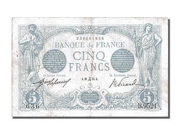 5 Francs Type Bleu - 1871-1952 Anciens Francs Circulés Au XXème