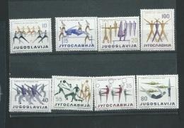 Yougoslavie Serie Yvert 801/808 **  -  Abc8801b - 1945-1992 Socialist Federal Republic Of Yugoslavia