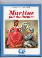 BD  MARTINE  Fait Du Théatre 1976 - Martine
