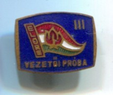 SCOUT, Scoutisme, Eclaireur - ELORE Hungary, Vintage Pin  Badge, Abzeichen, Enamel - Scoutismo