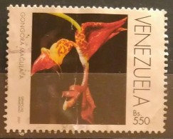 VENEZUELA 2001. FLORA - ORQUÍDEAS. DEFECTUOSO. USADO - USED. - Venezuela