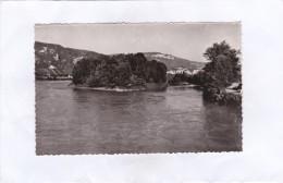 LA  BALME - LES  GROTTES  (Isère). -  Le  Rhône  Au  Pont  De  Lagnieu. - La Balme-les-Grottes