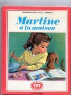 BD  MARTINE  à La Maison 1974 - Martine
