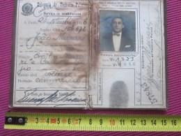 1926 CARTA DE ESTADOS DE SAO PAULO BRESIL DELEGACIA DE TECHNICA POLICIAL PERSONNALITE - Documents Historiques