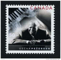 CANADA, 2005, #2118,  OSCAR PETERSON & KEYBOARD,  M NH Single - 1952-.... Reinado De Elizabeth II
