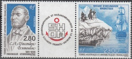 TAAF 1994 Yvert 193A Neuf ** Cote (2015) 13.20 Euro Adrien Vincedon Dumoulin Ingénieur Hydrographe - Neufs