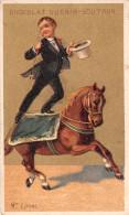 Chromo Dorée Guérin-Boutron - Cheval - Cirque - M. Loyal - Guérin-Boutron