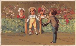 Chromo Guérin-Boutron - Enfants - Un Ami Attendu - Guérin-Boutron