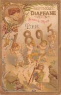 Petit Calendrier 1895 - Parfumerie Diaphane - Avenue De L'Opéra - Paris - Ange - Calendriers