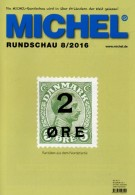 MICHEL Briefmarken Rundschau 8/2016 Neu 6€ New Stamps Of The World Catalogue/magacine Of Germany ISBN 978-3-95402-600-5 - Pin's