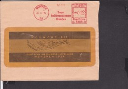Deutsches Reich Freistempel München Bayer. Versicherungskammer 1934 - Deutschland