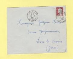 Authoison - Haute Saone - 26-2-1964 - Postmark Collection (Covers)