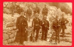 Carte-photo. Officiers Et Soldats Austro-hongrois.1909 - Regimente