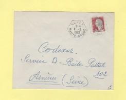 Borey - Haute Saone - 8-3-1962 - Agence Postale - Postmark Collection (Covers)