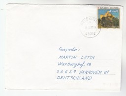 1995 Delekovec CROATIA COVER Stamps 4k Trakoscan To Germany - Croatia