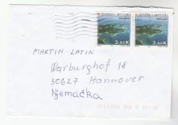 1998 CROATIA COVER Stamps 2x 3.80k Brijuni  To Germany - Croatia