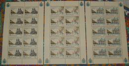 Vaticano 1996 Ordinazione Sacerdotale Minifoglio Da 10 Sass.1053/55 **/MNH VF - Blokken & Velletjes