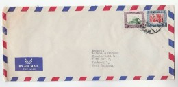 Air Mail JORDAN Stamps COVER  To Germany - Jordan