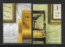 Finland, Scott # 1293a-b Used Home Furnishings, 2007 - Finland