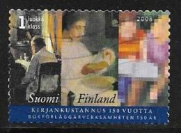Finland, Scott # 1307 Used Book Publishers Assoc., 2008 - Finland