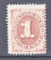 US  J 1  * - Postage Due