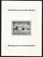 BELGIUM  B 317   **  MUSICAL  CHAPEL  OF QE  I - Belgium