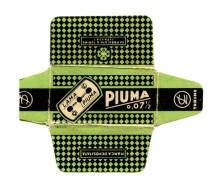 Piuma Razor Blade Labels Lame Rasoir étiquette Klinge Rasierapparat Etikett - Razor Blades