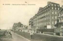 Dieppe. Boulevard De Verdun. Grand Hotel.    X 38 - Dieppe