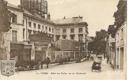 37  TOURS   Hôtel Des Postes - Tours