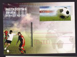 POLAND POLOGNE 2006 POSTAL STATIONERY World Football Championship