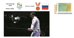 Spain 2016 - Olympic Games Rio 2016 -  Bronze Medal - Foil Fencing Male Russia Cover - Juegos Olímpicos