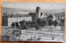 Plauen I. Vogtl. - Platz Der Roten Armee - Traces De Papier Collé Au Dos - (n°6499) - Plauen