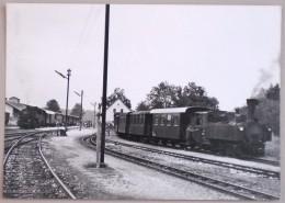 Chemin De Fer Autriche Locomotive Vapeur Gare Volkermarkt Kuhnsdorf -> Eisenkappel Train Bahnhof OBB 1964 - Gares - Avec Trains