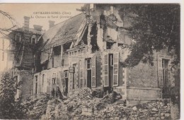 CPA-60-Oise- ORVILLERS-SOREL- Le Château De Sorel- - Altri Comuni