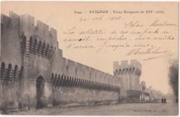France, AVIGNON, Vieux Remparts Du XIV Siecle, 1902 Used Postcard [18551] - Avignon