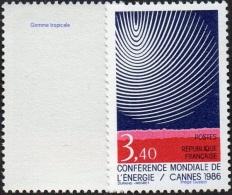 France Variété N° 2445,a ** Conférence Mondiale De L énergie à Cannes (verso Gomme GT) - Varietà: 1980-89 Nuovi