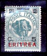 Italia-F01290 - Eritrea 1924: Sassone N. 81 (++) MNH - Privo Di Difetti Occulti. - Eritrea