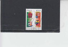 ITALIA  2002 - Sassone 2629° - Stemmi Militari - 6. 1946-.. Republic