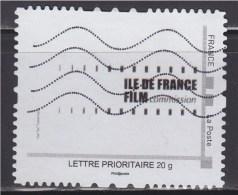 = Personnalisé Oblitéré Cadre MonTimbraMoi Gris Lettre Prioritaire 20g Île De France Film Commission - Personalizzati (MonTimbraMoi)
