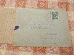 Neustadt Am Kulm Germany USA ZONE Csitar Hungary Umschlag Envelope - Gemeinschaftsausgaben