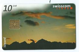 Telecarte Suisse Se 21 Nuages 2 - Schweiz