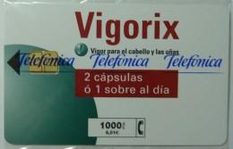 SPAIN - Chip - 1000 Units - Vigorix - 07.00 - 5,000ex - P-436 - Mint Blister - España