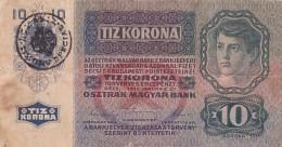 "Roumanie Romania Rumänien Austria Hungary 10 Kronen 1915 Timbru Special """" TRANSYLVANIA """"Stamp - Rumänien"