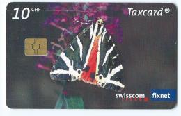 Telecarte Suisse Se 153 Papillon Ecaille - Svizzera