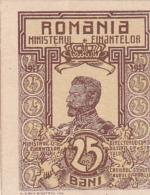 Roumanie Romania Rumänien 25  Bani 1917 UNC - Romania