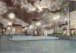Aosta - Piazza Emilio Chanoux (Notturno) - Aosta