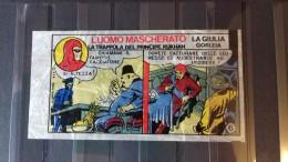 THE PHANTOM - VANISHING, INCREDIBLE RARE AKA UNIQUE BUBBLE GUM WAX WRAPPER 1970 - Andere